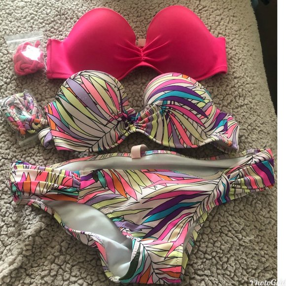 Victoria Secret bikini bathing suit and extra top